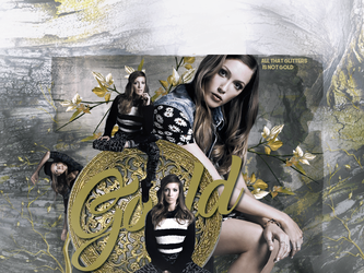 Katie Cassidy - Gold by immortaldesires