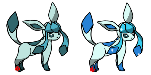 Pokemon #471 - Glaceon by Fyreglyphs