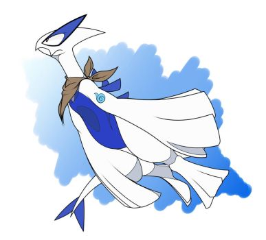 Lugia, the Sea Birb by Beyzul