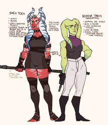 i made some star wars OCs by annicron