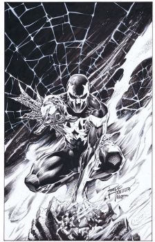 Spider-man 2099: Philip Tan by boysicat