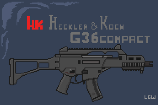 Heckler and Koch G36 Compact by LonelyGrayWolfie