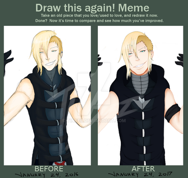 Draw this again Meme: Alex by Tinseii