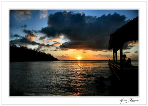 Sunset at paradise... by Michel-Lag-Chavarria