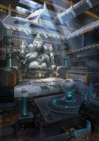 Ganesha by sheer-madness