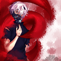 Kaneki Ken (second try) by freekarasunoninja