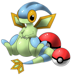 Shiny Flygon by lilly-gerbil