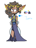Tiana color ref by TheCatQueen10