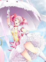 Madoka in a Light Drizzle by YomiTrooper