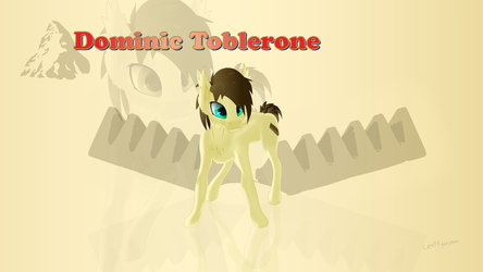 Dominic Toblerone by LexiFyrestar