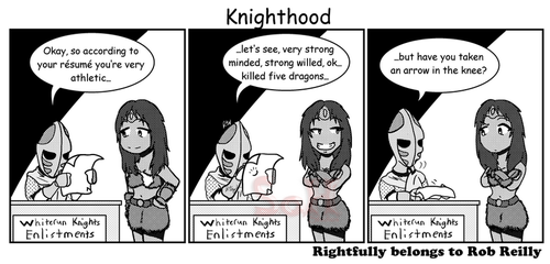 Knighthood by Son23