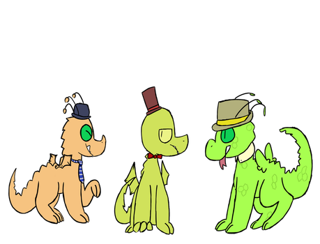 Googators #43 #45 #46 by Beebasaur