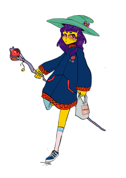 YUNG WITCH by NantesOldSkool