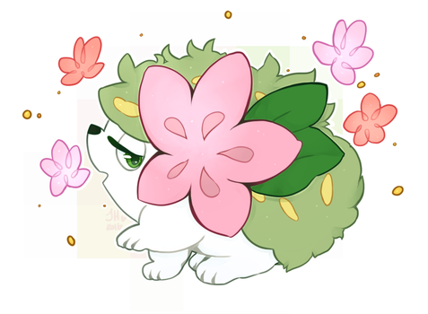 Day 5 - Shaymin by Tackytician