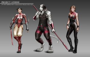 Project Aterne Character concept 3 by Moonarc