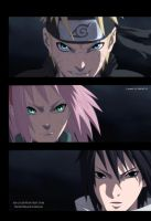 Naruto 632: Team 7 by AR-UA