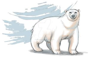 Polar bear by mistertheriault