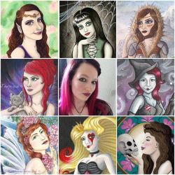 artvsartist by Victoria Thorpe by VictoriaThorpe