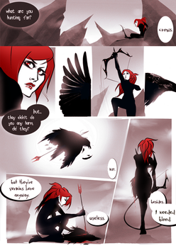 - crows - by Alquana