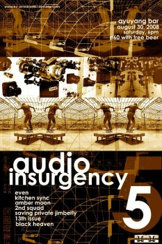 Audio Insurgency 5 by armedconflict