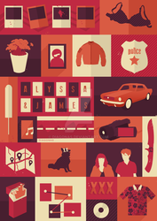 VECTOR ART   the end of the f***ing world by Diagonas