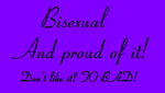 Bisexual and proud! by xXPandaBlossomXx