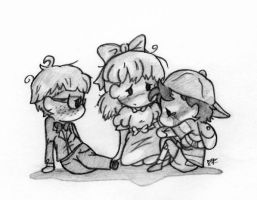 [EarthBound]_On Our Own by LoveMySockhead12
