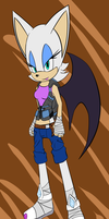 Sonic boom rouge design by rouge2t7