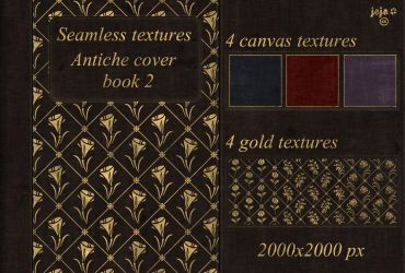 Antiche cover book Seamless textures 2 by jojo-ojoj