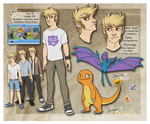 Cael-Refsheet by guardianofire