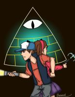 Mystery Twins vs. the Mystery by Luminerd