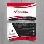 Marketifye business card by zamir