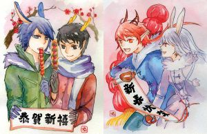 PostCards: Chinese New Year by cyrusHisa