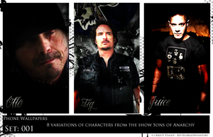 Sons of Anarchy phone WP by revsXgirl