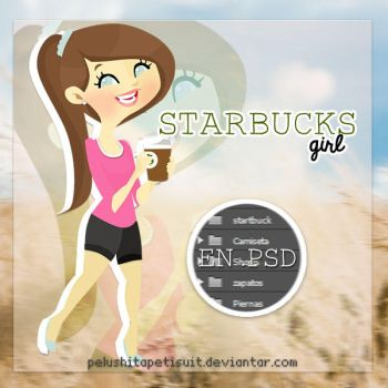 Starbucks girl by PelushitaPetisuit