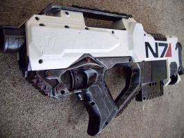 Nerf Mass Effect N7 Rayven by Segerev