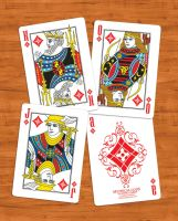 Mythical Gods Card Deck - Roman Gods by martianpictures