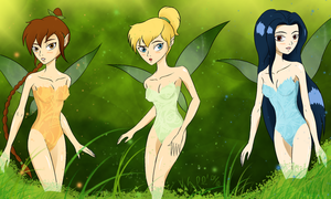 Fairies in the Nature by razamatzu