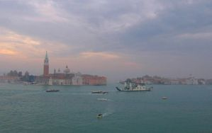 Venice at dusk by elizile