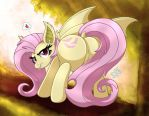 MLP FIM - Flutterbat Looking At You by Joakaha