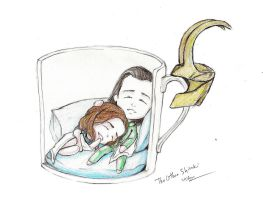 The Affair of Loki and Darcy by TheOtherShiroki