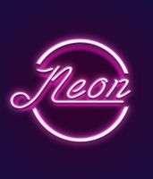 Neon Logo Test by gravykins