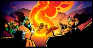 Lego Bionicle G2 Facebook Page Closure Notice by Icefire0000