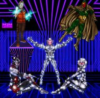 The Ultron Family by wondermanrules