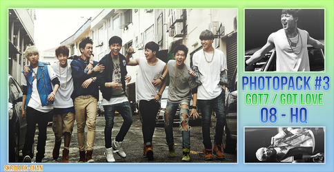 //Photopack - GOT7 (Got Love) by Skrollex-Chan