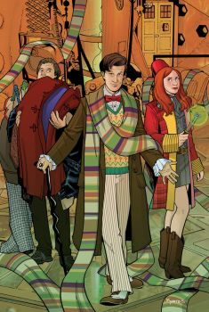 Doctor Who #1 Cover by KellyYates