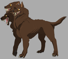Cerberus by A-Fistful-Of-Kittens