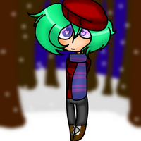 Alex in winter by Bonnieart04
