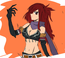 erza by AgnesLeef