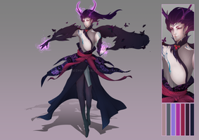 (CLOSED :3) - Poison Mage Adoptable #003 by Timothy-Henri